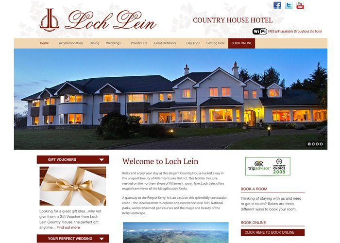 Guesthouse web design