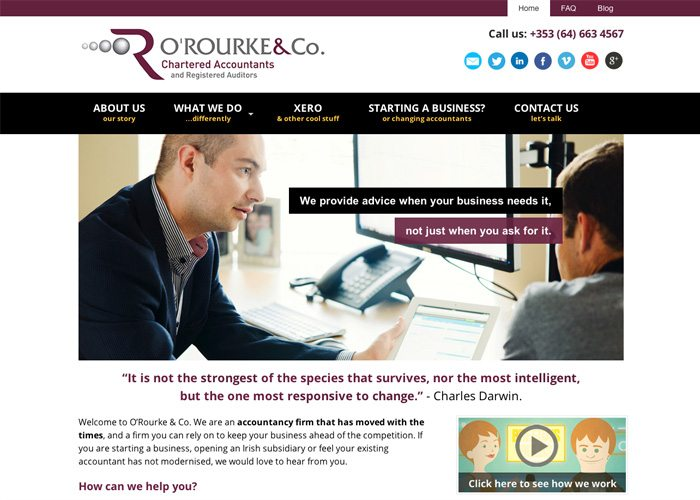 Accountant websites Ireland